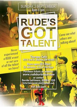 RUDE Talent Show