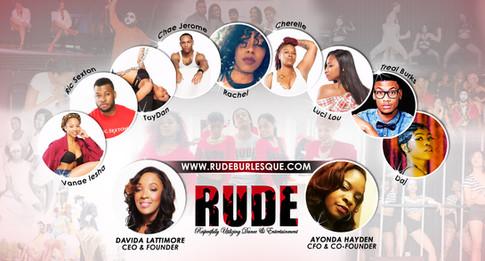 RUDE Team Banner