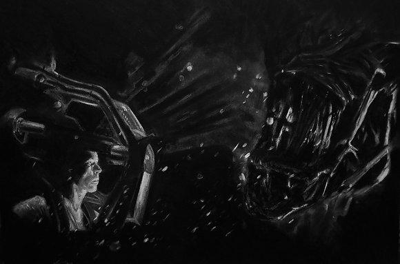 Ripley vs Alien Queen