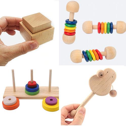 Kit 0-6 Meses Montessori
