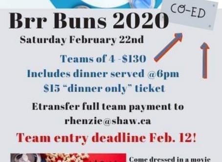 Brrr Buns Curling Bonspiel 2020!