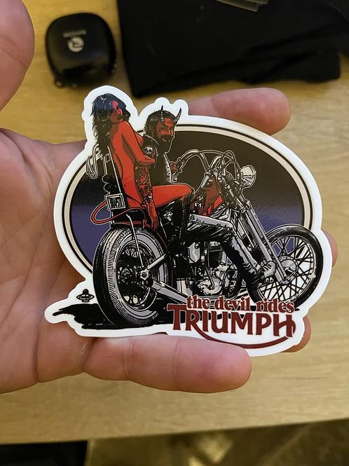 The Devil rides Triumph