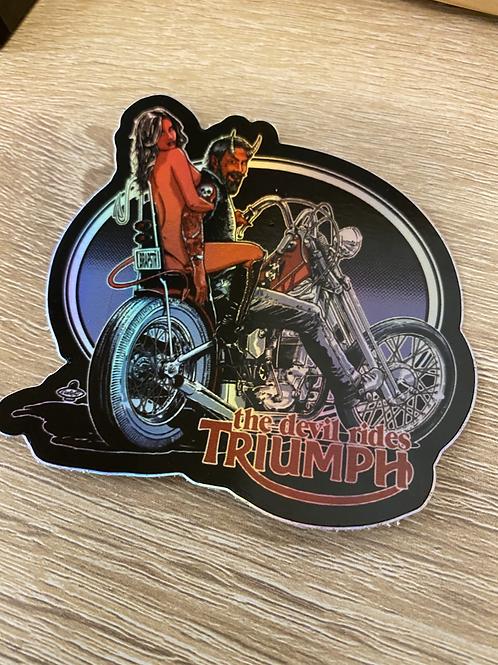 The Devil Rides Triumph (holographic)