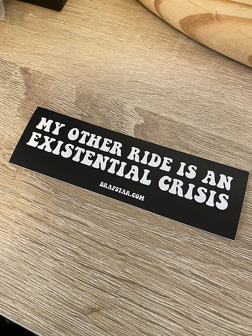 Existential Crisis Sticker (3 pack)