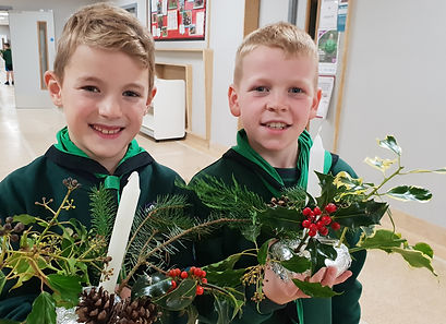 Scouts - Christmas Decorations 2 - 2018.
