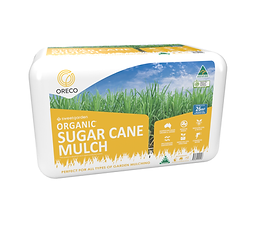 Bunnings Sugar Cane Mulch - Large Bale w