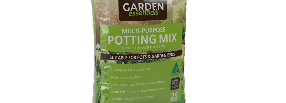Garden Essentials - Potting Mix 25kg Pil