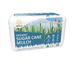 Sugar Cane Mulch Blue - Large Bale white