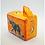 Thumbnail: Large Orange Soapstone Box with Pop Up Snake