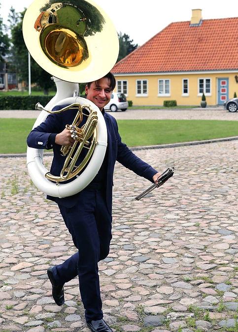Trombonespiller, André Jensen