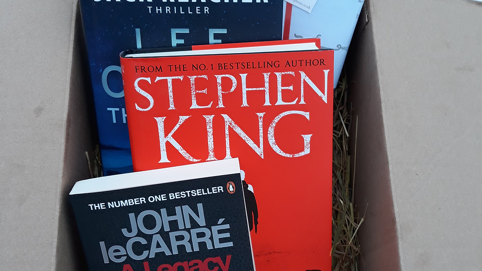 Crime & Thriller Book Box