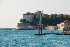 Zadar - City Salt Pool @ beach Kolovare