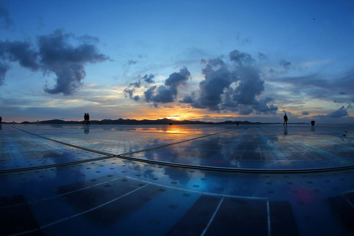 Zadar - Sunset and Greeting to the sun