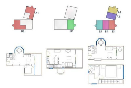 Apartments Matas - blueprints