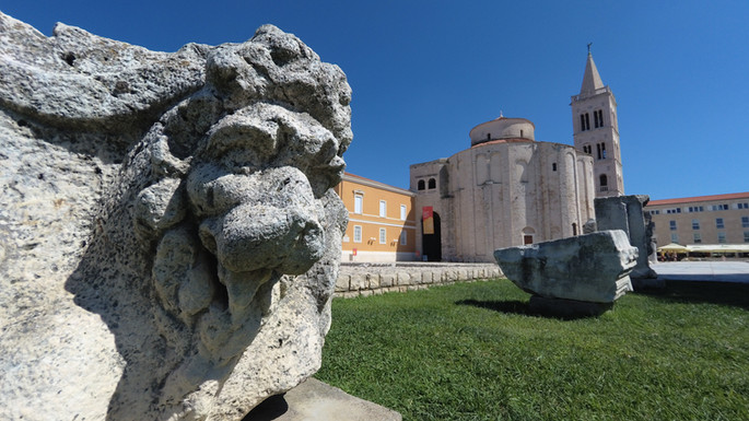 Zadar - Forum and St. Donat