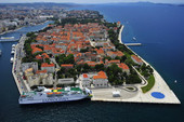 Zadar - view from above