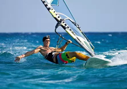 Winter is the best for Wind Surfing!! Contact us for direct reservation...