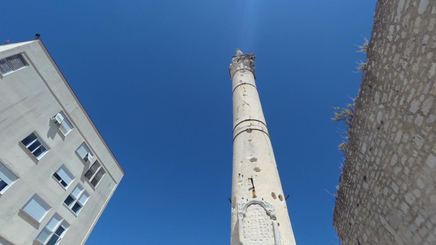 Zadar - Pillar of shame