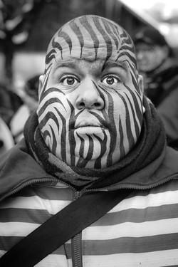 Carnaval face