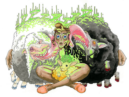 Insomnia Sheep