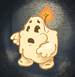 Candle-Ghost