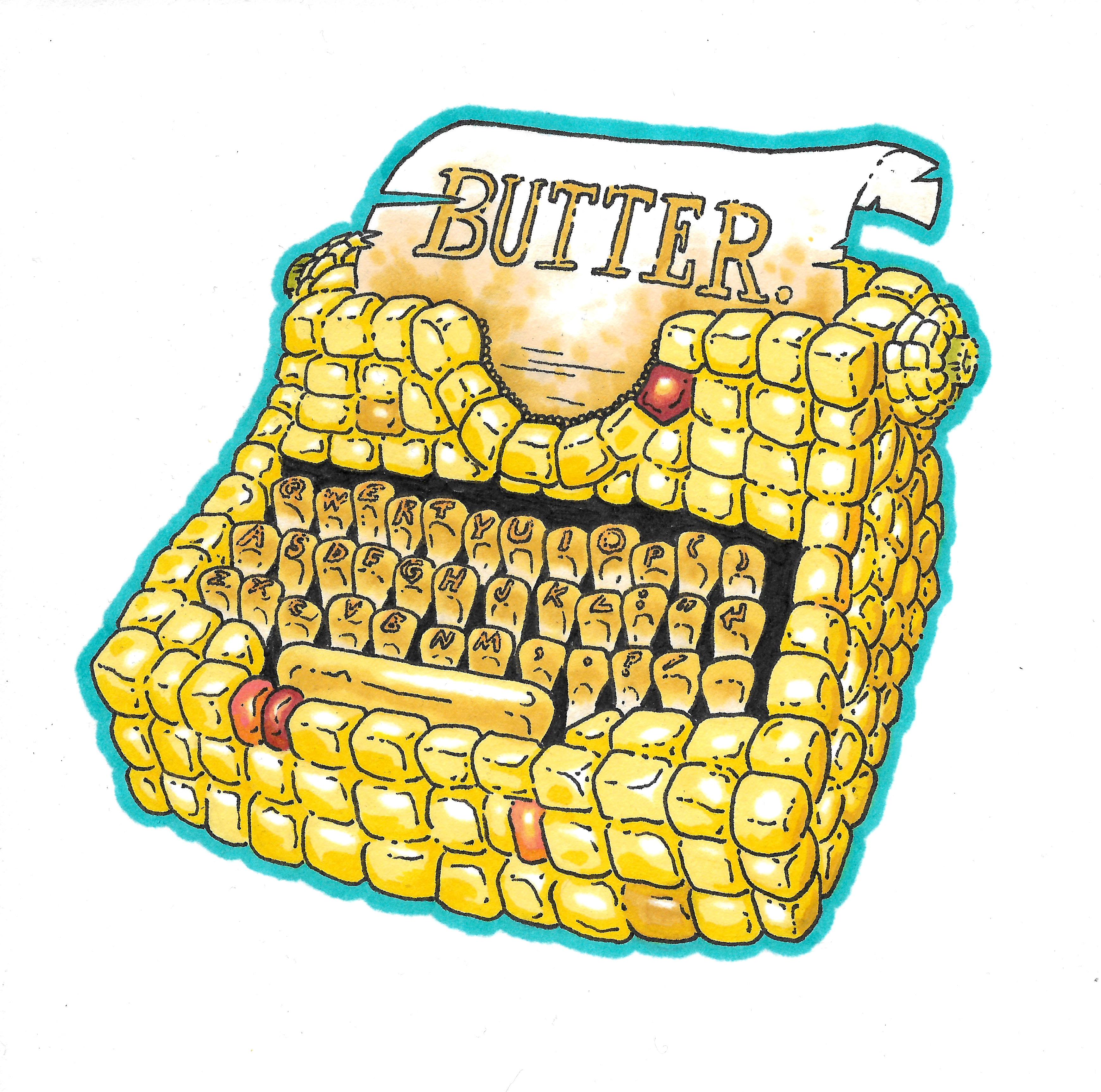 Corn Typewriter