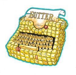 Corn Typewriter