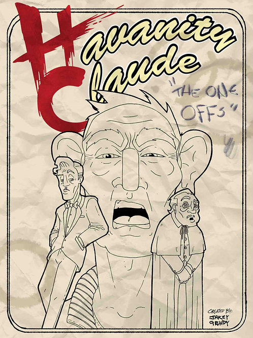 "Digital ""Havanity Claude One Offs"" Comic (Uncoloured)"
