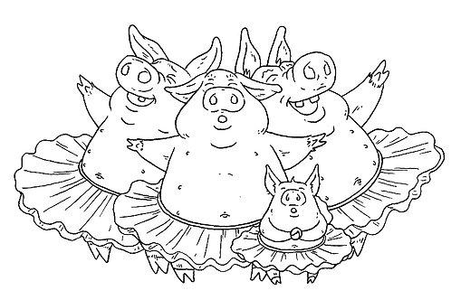 Pigs in Tutus