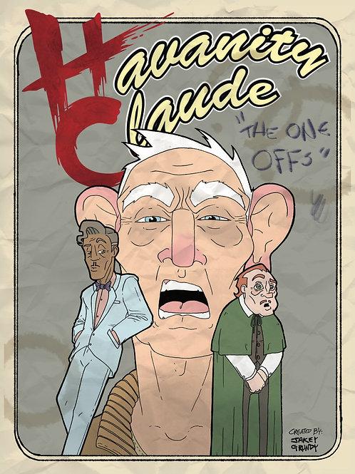 """Havanity Claude """"The One Offs"""" (Comic)"""