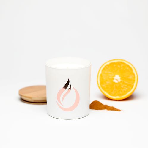Aromatherapy 'Hug Me' White Soy Candle