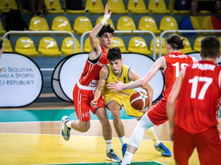 FIBA U18 : la Suisse s'incline pour son entrée dans la compétition