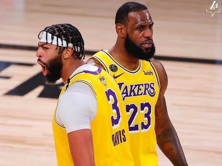 NBA Finals - Game 1 : Les Lakers sans forcer