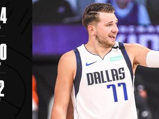 Doncic entre encore plus dans l'histoire de la NBA