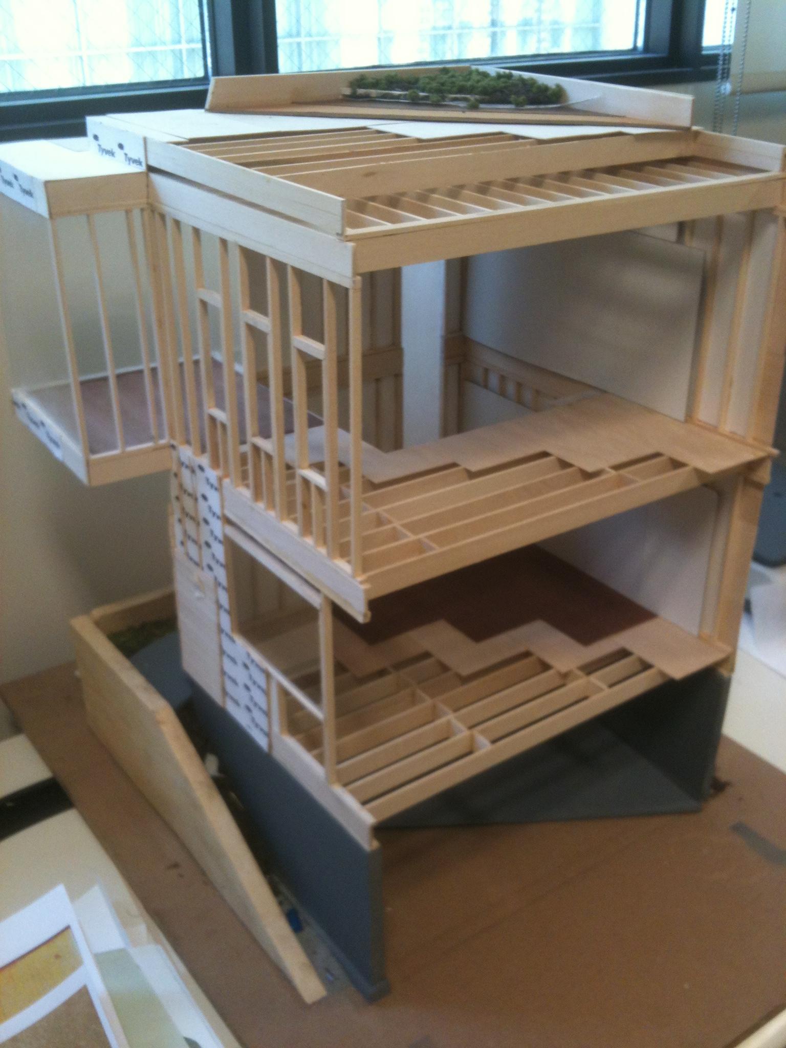 Residential Construction 3-D Model