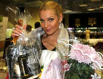 Анастасия Волочкова Семена Чиа в подарок