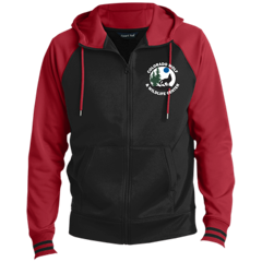 Sport-Tek Men's Sport-Wick® Full-Zip Hooded Jacket