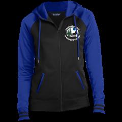 Sport-Tek Ladies' Sport-Wick® Full-Zip Hooded Jacket