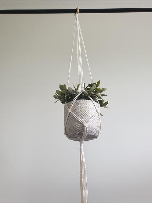 Simple Plant hanger White