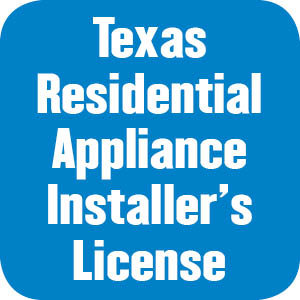 Texas Residential Appliance Installer's License Workbooks