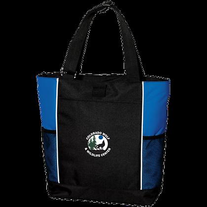 Port Authority Color Block Zipper Tote Bag