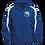 Thumbnail: Sport-Tek Fleece Lined Colorblocked Hooded Jacket