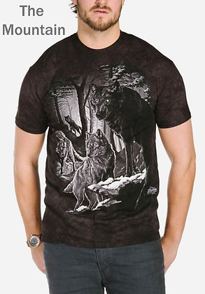 The Mountain Unisex Short Sleeve Shirt