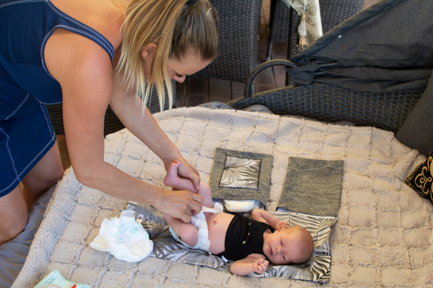 Nappy Changing time