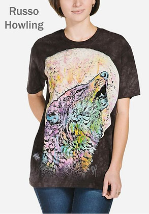 Russo Howling Unisex Short Sleeve Shirt