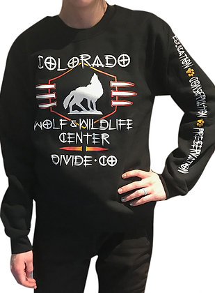 'Spikey' Crew Neck Sweatshirt