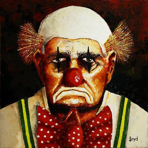 A Very Grumpy Clown