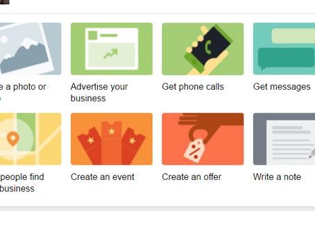 שמתם לב לשינויים בעמוד הפייסבוק העסקי שלנו? חדשות ועדכונים