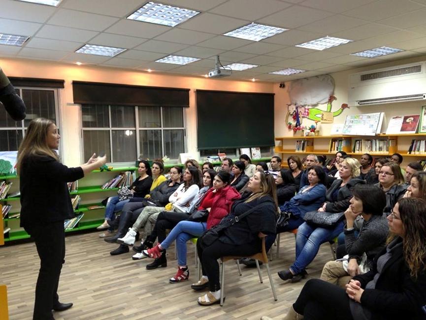 הרצאה בבית הספר אל מול הורים