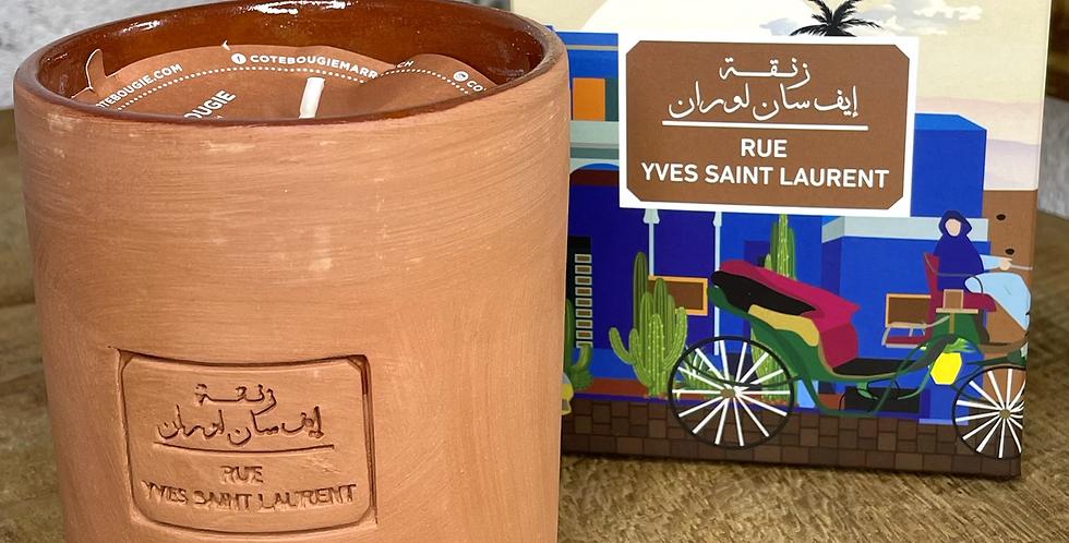 CÔTÉ BOUGIE • Bougie «Rue Yves Saint Laurent»
